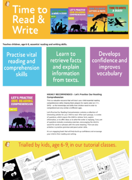 Let's Practise Our Reading Comprehension (6-9 years)