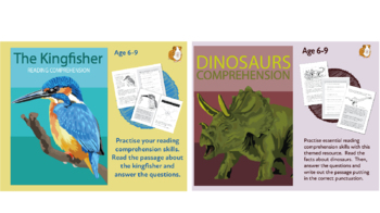 Let's Practise Our Reading Comprehension: Pack 1 (6-9 years)