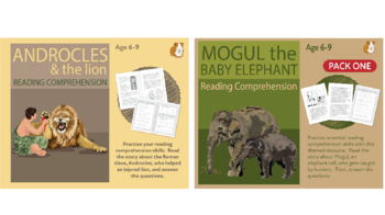 Let's Practise Our Reading Comprehension: Pack 4 (6-9 years)