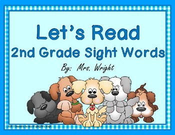 FREE!! Let's Read 2nd Grade Sight Words Power Point
