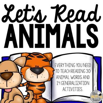 Let's Read: Animals