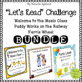 Let's Read Challenge: Lesson Sequence and Activity Bundle