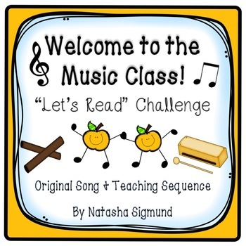 Let's Read Challenge: Welcome To The Music Class