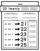 Writing Practice for Kindergarten!  Letters A to Z & Numbers 1 to 100