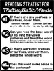 Let's Read Multisyllabic Words!