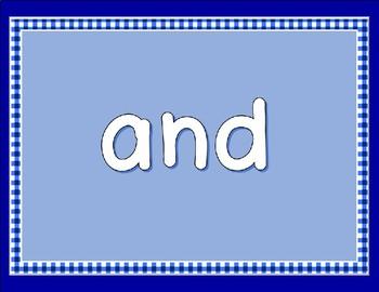 Let's Read Pre-Primer Sight Words