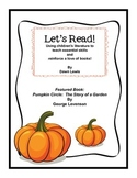 Let's Read:  Pumpkin Circle by George Levenson