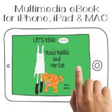 Let's Read Rosie Rabbit & Her Cat | Multimedia Reading Boo