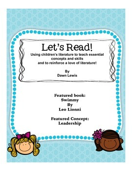Let's Read!  Swimmy by Leo Lionni