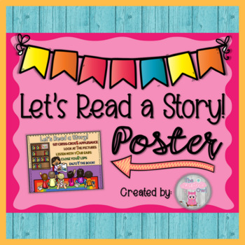 Let's Read a Story! Poster