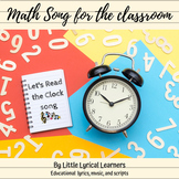 """Reading a Clock: """"Let's Read the Clock"""" Song"""