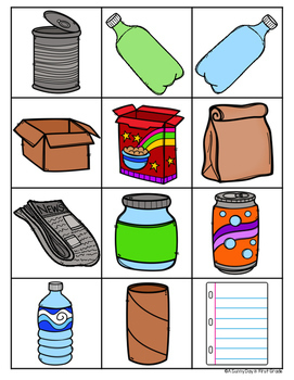 Let's Recycle! {Earth Day mini pack!}