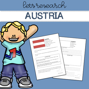 Let's Research Austria! Country research template and guide.