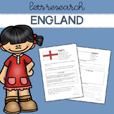 Let's Research England! Country research template/guide.