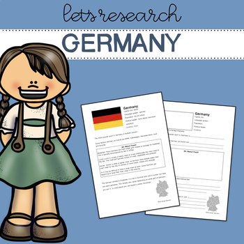 Let's Research Germany! Research template/guide.