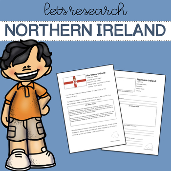 Let's Research Northern Ireland! Country research template and guide.