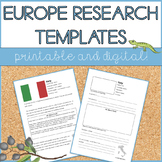 Let's Research Russia! Country research template and guide.