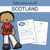 Let's Research Scotland! Country research template/guide.