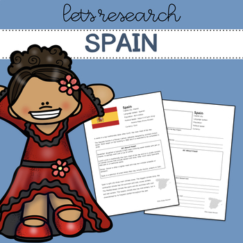 Let's Research Spain! Research template/guide.