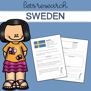 Let's Research Sweden! Country research template and guide.