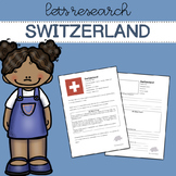 Let's Research Switzerland! Country research template/guide.