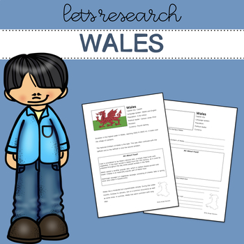 Let's Research Wales! Country research template/guide.