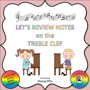 Let's Review Notes on the Treble Clef