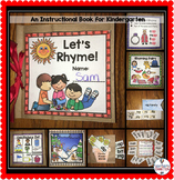 Let's Rhyme Paper Bag Mini Book Project
