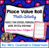 Let's Roll: Place Value Game for 2 Digit Numbers (Tens and Ones Only)