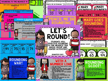 Let's Round! Activities that have students practice rounding to the nearest 10