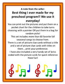 Let's Sing Fall Songs!
