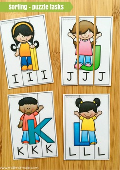 Alphabet Puzzles and Spelling Practice