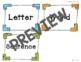 Let's Sort: Letters, Words, & Sentences