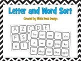 Let's Sort! Letters vs. Words