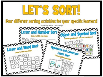Let's Sort! (objects, letters, numbers and words)