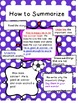 Let's Summarize!  2nd and 3rd Grade