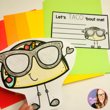 Let's TACO 'Bout Me Bulletin Board