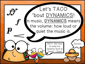 Let's TACO 'bout Music Elements and More {Print or Build Your Own Slideshow}