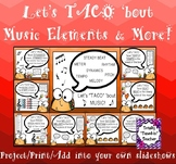 Music Bulletin Board: Let's TACO 'bout Music Elements and More