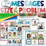 Let's TALK IT OUT! Small vs. big problems & I messages Lap Book & Sorting Game!