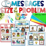 Size of the Problem, Problem-Solving, & I-Messages Lap Book & Sorting Game!