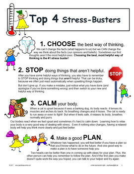Let's THINK About  Feelings, Emotions, and Stress: CBT Strategies