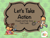 Let's Take Action: Present and Past Tense Verb Cards
