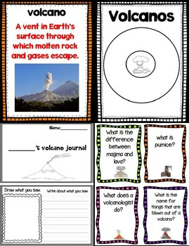 Let's Take a Closer Look: Volcanoes (Non Fiction Close Reading)