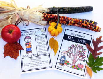 Let's Take a Fall Walk! (Science, Nature, and Inquiry)