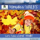 Fall Leaf Nature Walk (preschool and kindergarten science)
