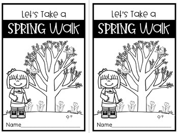 Let's Take a Spring Walk! (Science, Nature, & Inquiry)