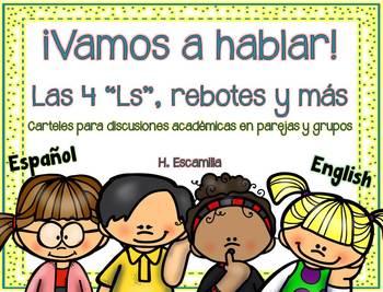 Let's Talk! - Collaborative Conversations & More - Spanish & English