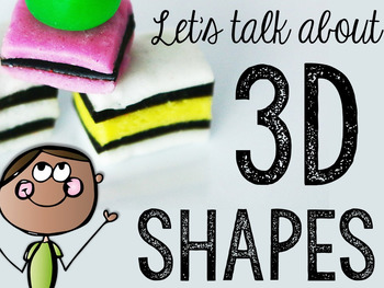 Let's Talk About 3-D Solid Shapes: Interactive Read-Aloud PowerPoint