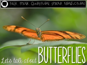 Let's Talk About Butterflies: Interactive Read-Aloud PowerPoint